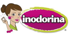 inodorina testimonial con logo